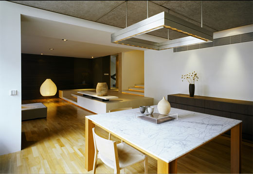 beautiful minimalist apartment